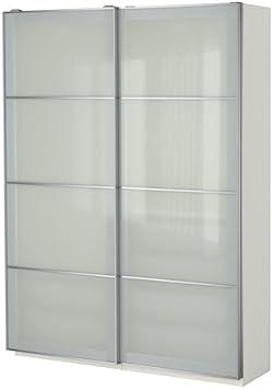 Ikea Armario, Blanco, Cristal Esmerilado Sekken 38382.81720.108: Amazon.es: Juguetes y juegos
