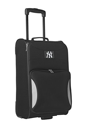 mlb-new-york-yankees-steadfast-upright-carry-on-luggage-21-inch-black
