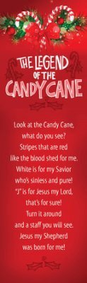 Bookmark-Legend Of Candy Cane (Pack Of 25)