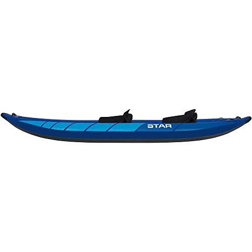 Star Raven II Inflatable Kayak-Blue