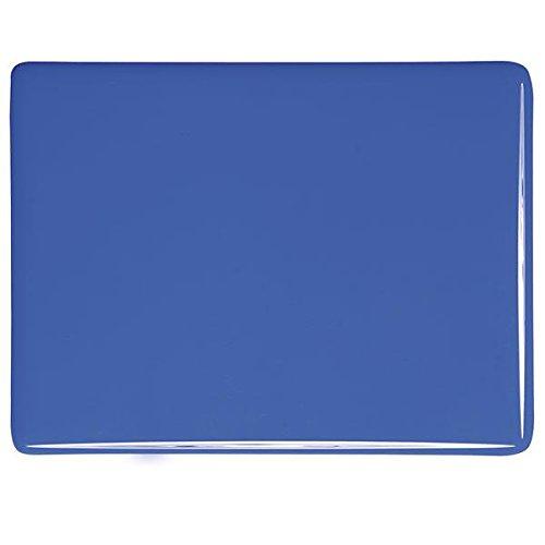 Made from Bullseye Glass 90COE Cobalt Blue Opalescent Fusible Glass Medium Frit 4oz