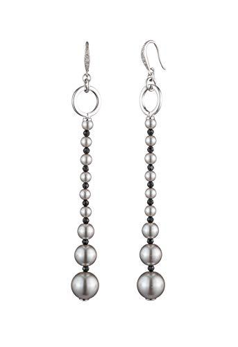 Carolee Women's Linear Pearl Earring ()