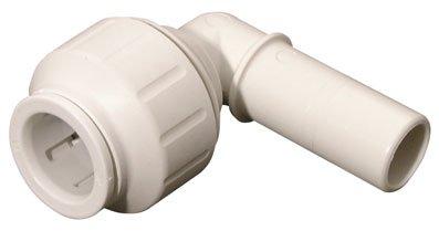 15 Mm Stem Elbow - JOHN GUEST - 15MM OD TUBE X 15MM OD STEM ELBOW - Stem (SPEEDFIT Plastic plumbing push-in fittings)