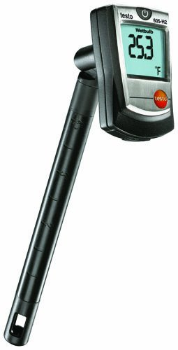 Wet Stick (Testo 0560 6054 Digital Humidity Stick with Wet Bulb, 0 to 100 percent RH Range)