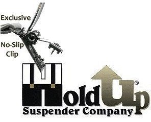 Hold-Ups Extra Long XL Fire Engine Red Dual Clip Double-ups Style Suspenders by Hold-Up Suspender Co. (Image #5)