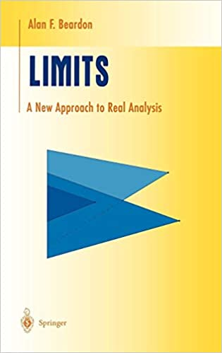 6f3a783b8da Limits: A New Approach to Real Analysis (Undergraduate Texts in  Mathematics) 1997th Edition