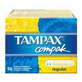 Tampax Compak Regular Tampons (16 Pieces) - Regular 16 Tampon