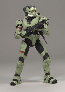 - McFarlane Toys Halo 3 Series 2 Olive Spartan Solider (EOD Armor)