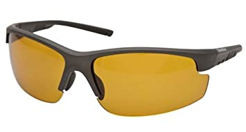 92d20df14f Image Unavailable. Image not available for. Colour  Snowbee Prestige Open  Frame Polarized Glasses Yellow