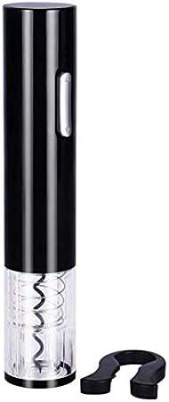 Abridor de vino Bomba de presión de aire Abrebotellas de vino eléctrico simple abridor de botellas de vino de un toque Sacacorchos con lámina extraíble