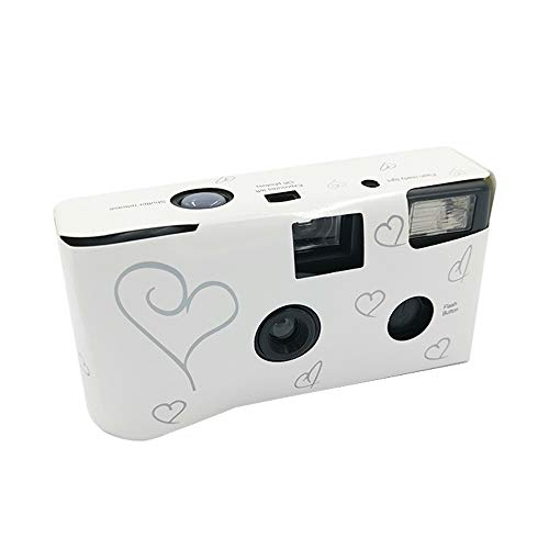Walmeck- 36 Photos Power Flash HD Single Use One Time Disposable Film Camera Party Gift