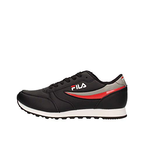 Fila grey Jogger 1010264422Scarpe red Orbit Black Sportive Low w8k0PnO
