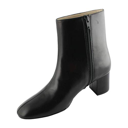 Cuir Carina Bottines Paris Noir Exclusif wAEpRSqnE
