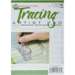 Bulk Buy: Royal Brush Tracing Paper Pad 5X7 16pgs/Pkg RD367 (6-Pack) Royal Brush Manufacturing Inc.