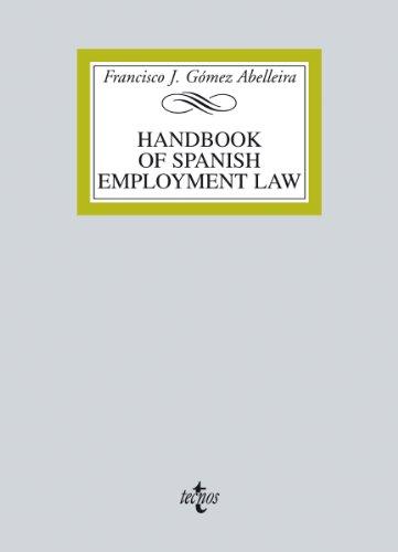Descargar Libro Handbook On Spanish Employment Law Francisco J. Gómez Abelleira