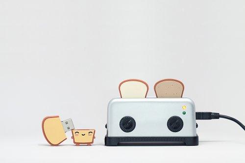 Smoko Toaster USB Hub – Silver, Best Gadgets