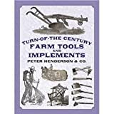 img - for Turn-of-the-Century Farm Tools and Implements (Dover Pictorial Archive Series) Publisher: Dover Publications; Reprint edition book / textbook / text book