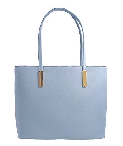 6 blue Set Handbag Handle large Should Women's Designed Hobo Top Leather New 2Pcs Bag Purse Fashion Tote qHZw6wR