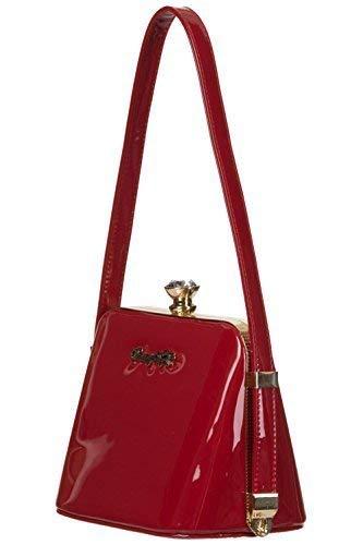 Banned Apparel Red Vintage Dancing Handbag Days Shiny Woman CsQtxhrd