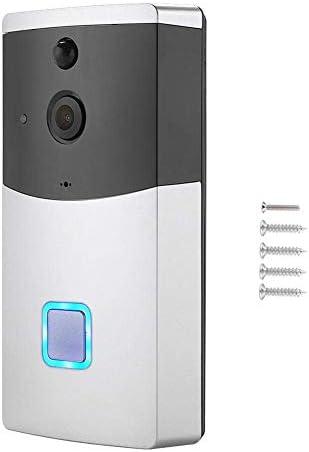 ドアベル、WIFIドアベル、ビデオカメラ電話リングインターホンナイトビジョンホームビルドセキュリティ