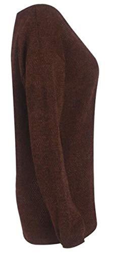 Chaud Automne Grande Basique Chic Pull Pullover Blouse Mode Manche Decollet Tunique Taille Chandail Longue Femme Tricot Oversize Top Simple Lache Hiver dIwwqf4