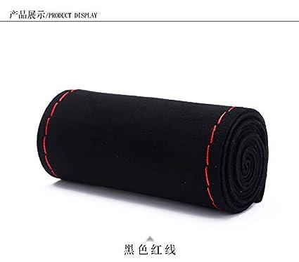 Il nero di 15 pollici della copertura del volante della macchina per cucire a mano materiale nuovo in pelle scamosciata unica