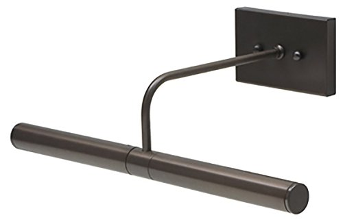 House of Troy DSL14-91 Direct Wire Slim-Line Picture Light, 14'', Oil Rubbed Bronze