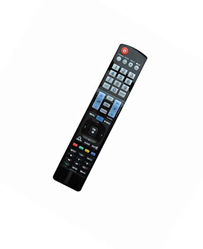 Replacement Remote Control Fit for LG 42LE4900 19LE5300 55LE7500 32LE4900 37LE4900 50PJ650 LG30 LG50 LG60 60PN5700 60PN5700-UA 50PN5300 32LN530B MKJ42519629 19LH20-UA Smart 3D Plasma LCD LED HDTV TV