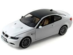 Motormax 73347 BMW M3 E92 Coupe White 1/24 Diecast Model Car