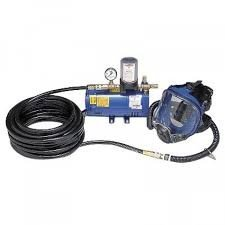 Allegro 9210-01 One Man Full Face Piece Supplied Air System with 100 foot Hose