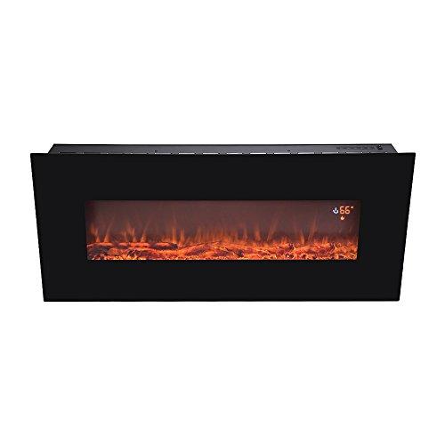 BEAMNOVA Fireplace Smokeless Adjustable Backlight