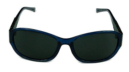 Guess Fashion Womens GU7425 90A Shiny Bluew/ Smoke Grey Lens - 2017 Sunglasses Guess
