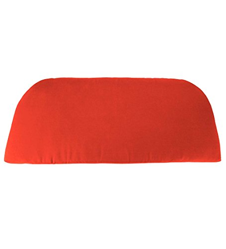 Classic Polyester Outdoor Swing/Bench Cushion, 41'' x 18.75'' x 3'' - Coral ()
