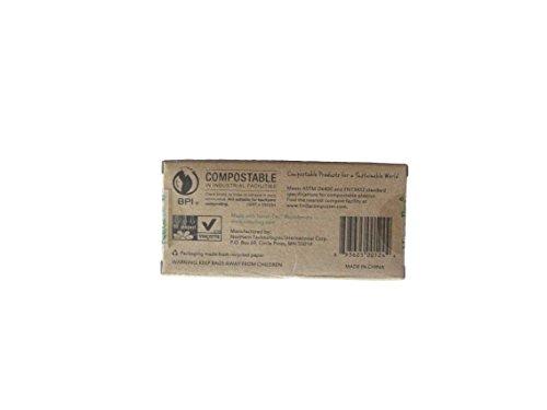 Natur-Bag Small Food Waste Compostable Bags - 3 Gallon, 25 B