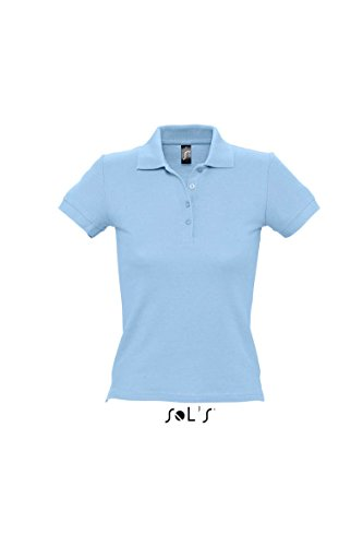 Ladies Polo People 210 Sky Blue M