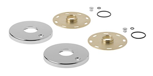 - Kohler 1194302-CP Escutcheon/Mounting Collar Kit, Large