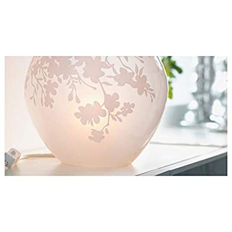 grande version: 18/cm altezza moderno bianco Ikea lampada da tavolo knubbig