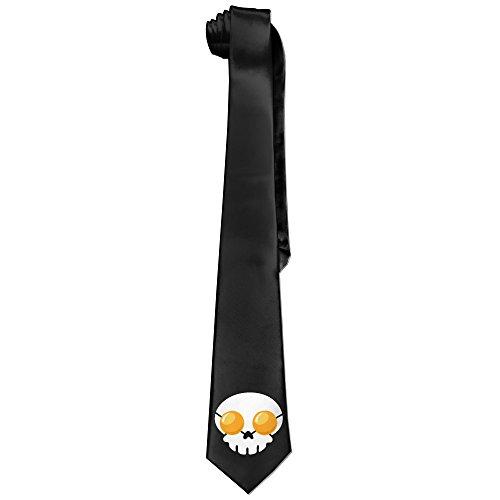 ONESEDA-Mens-Skull-Eggs-Tie-Necktie-Ties