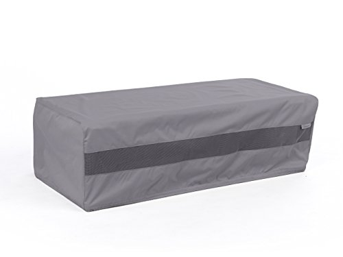 CoverMates – Rectangular Firepit Cover – 48W x 28D x 18H – Elite Collection – 3 YR Warranty – Year Around Protection - Charcoal by CoverMates