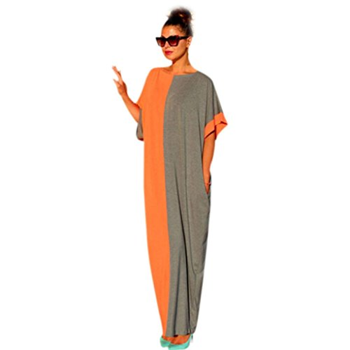 Kwok Dress, Women's Summer Boho Long Maxi Evening Party Dress Beach (S)