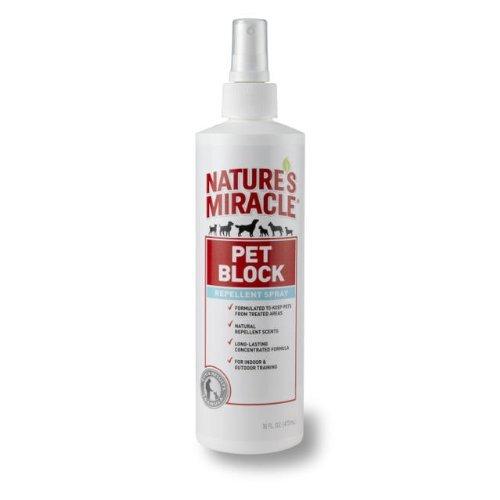 - 16-Ounce, Natural Repellant Scents Pet Block Deterrent Spray