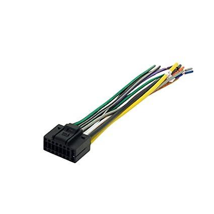 amazon com feeldo car 16pin stereo wire harness plug cable male rh amazon com stereo wire harness for 1989 jaguar xjs stereo wire harness for 2005 gmc sierra truck