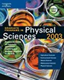 Graduate Programs in Physical Sciences 2003, Peterson's Guides Staff, 0768909406