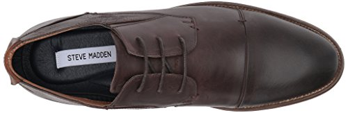 Steve Madden Mens Quantim Oxford Dark Brown VbieFpczpr