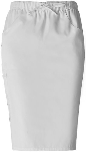 Dickies Women's Everyday Scrubs by Dickies Large Dickies White