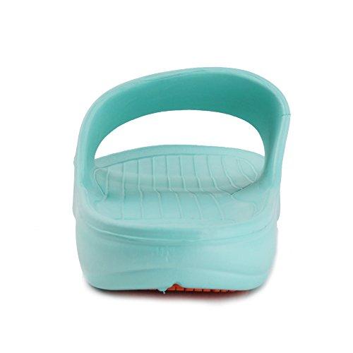 Slipper Antiscivolo Da Bagno Per Donna E Uomo Di Razza Equick Per Interni Casa Sandalo 01lake Blu