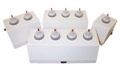 8 ounce gel warmer, 2 bottle capacity by Fabrication
