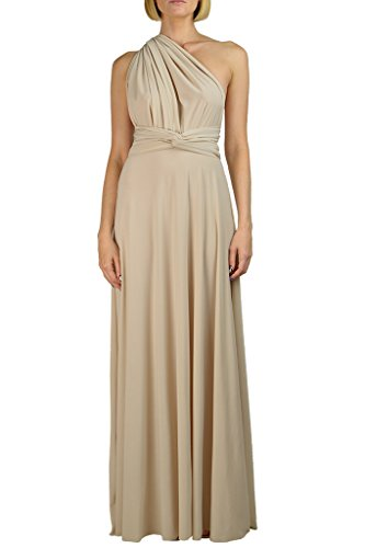 Von Vonni Infinity/Transformer/Convertible Maxi Dress (Amazon Infinity Mist)