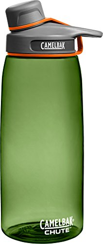 Camelbak Products Chute Water Bottle, Sage, 1-Liter (Plastic Bottle Water)