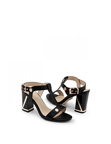 And 667 Gold Laura Sandalia Mujer Black calf Biagiotti THUxxEOwqY